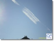 Chemtrail: 23 février 2008 - 14:20 - Bourges (Cher)